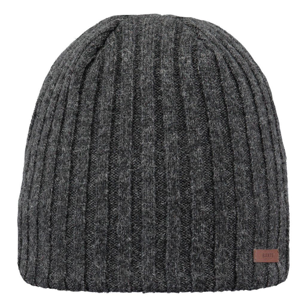 Barts Haakon Beanie Mens - Heather Grey