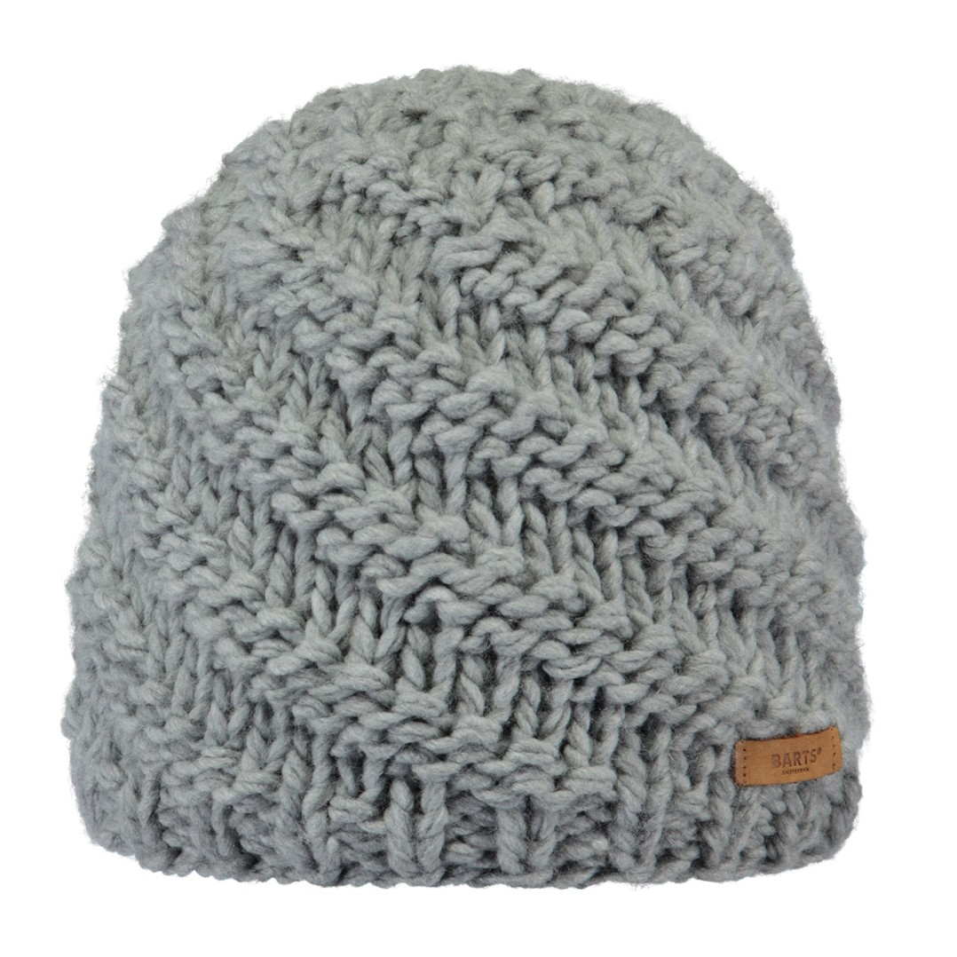 Barts Jade Beanie Womens - Heather Grey