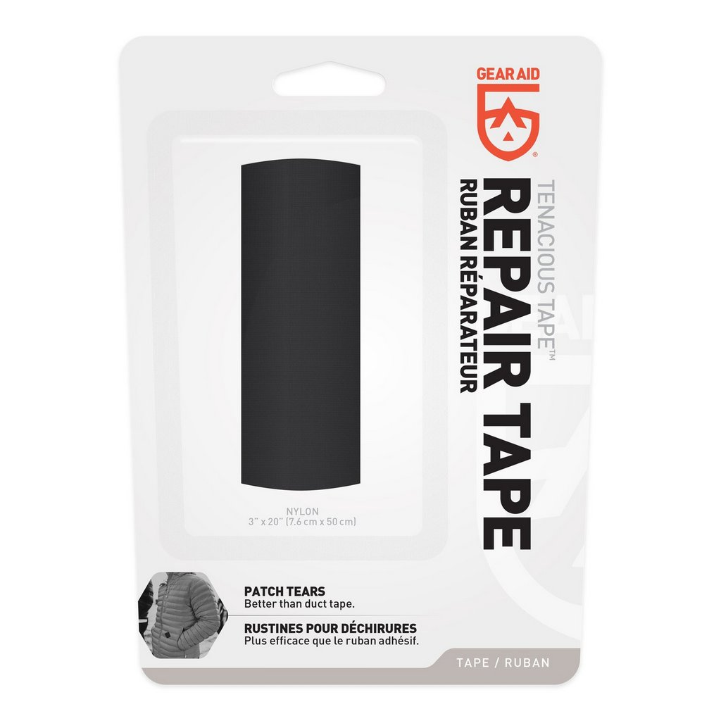 Gear Aid Tenacious Tape Repair Tape Black Nylon