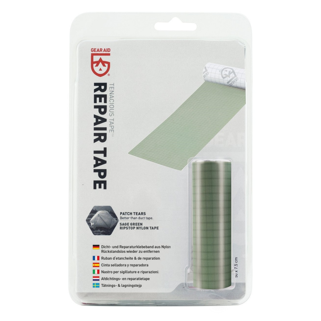 Gear Aid Tenacious Tape Repair Tape Sage Nylon