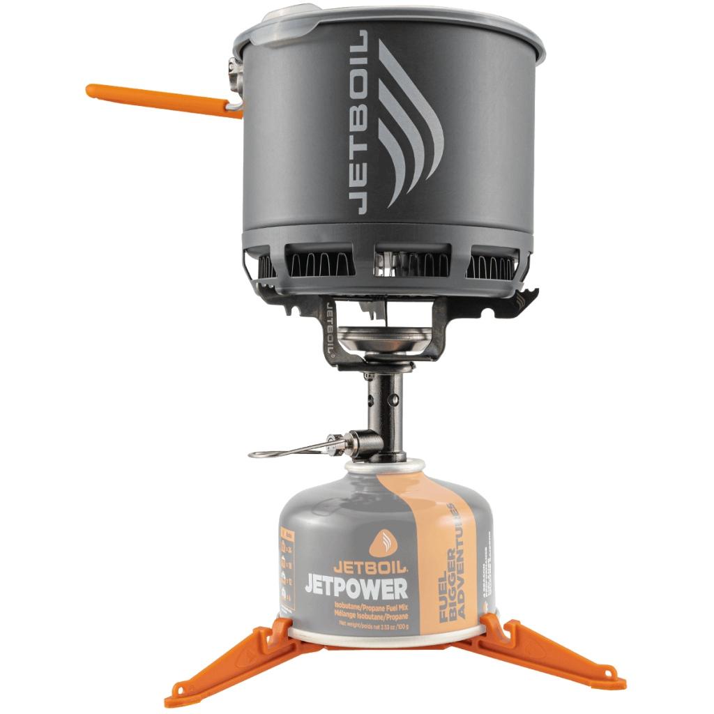Jetboil Stash Stove Kit - Titanium Burner & 0.8L HA Alu Cook Pot