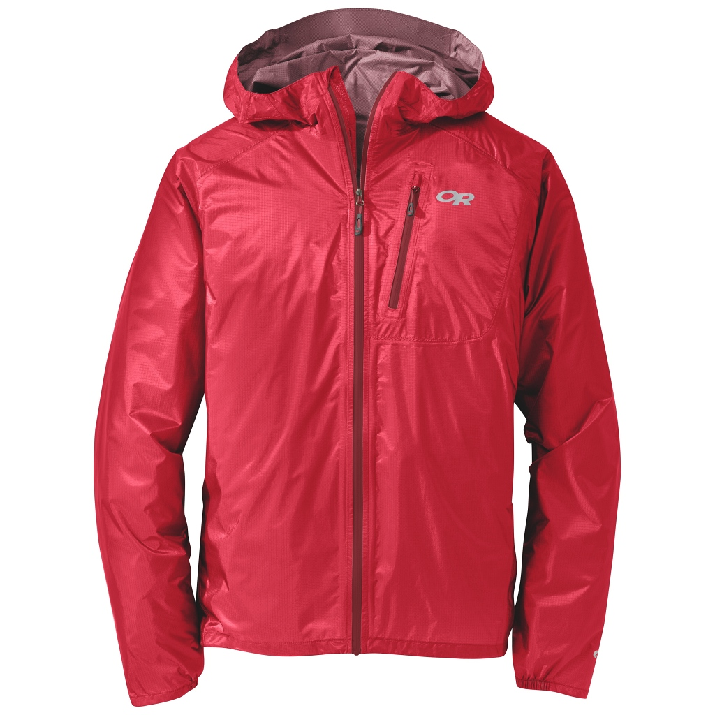 Outdoor Research Helium II Jacket Mens - Hot Sauce Red