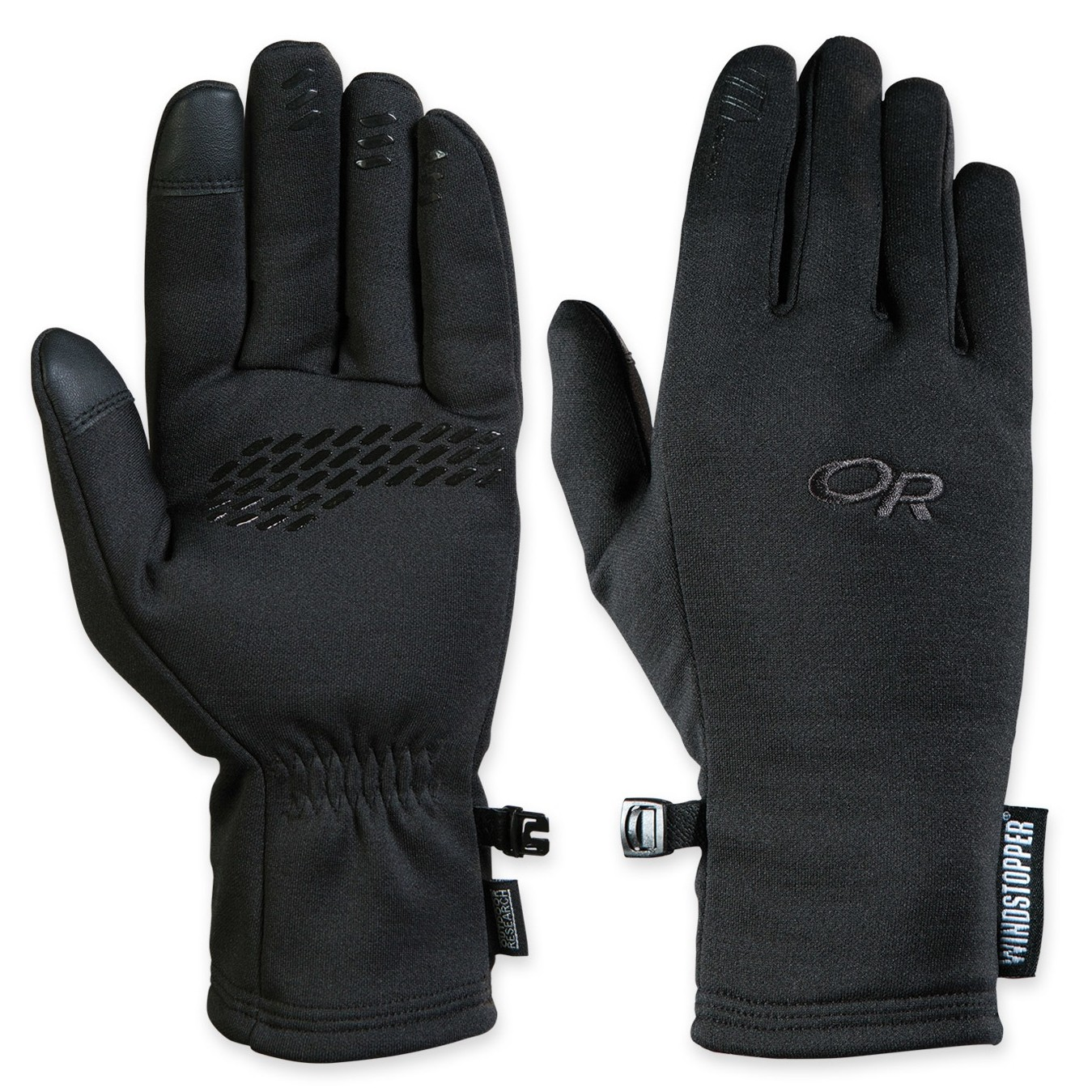 Outdoor Research Backstop Sensor Windstopper Gloves Mens