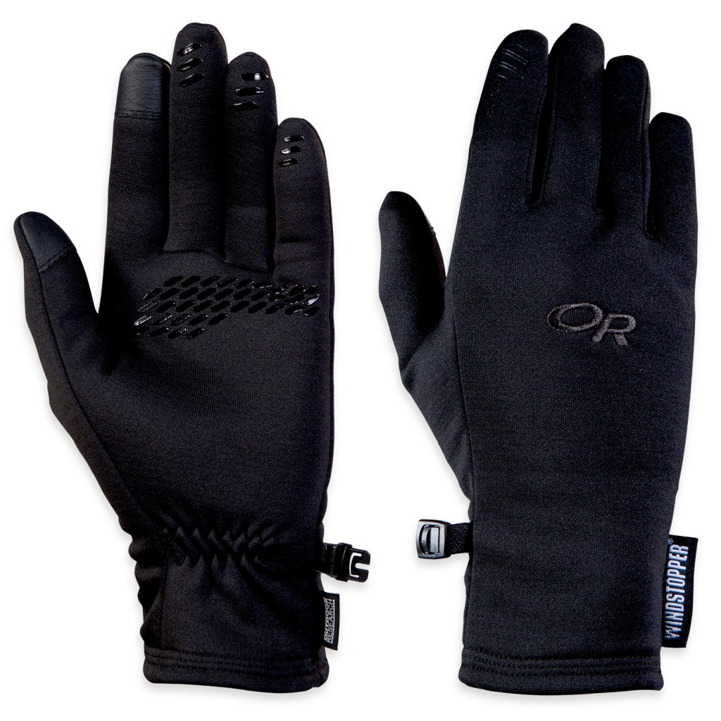 Outdoor Research Backstop Sensor Windstopper Gloves Womens