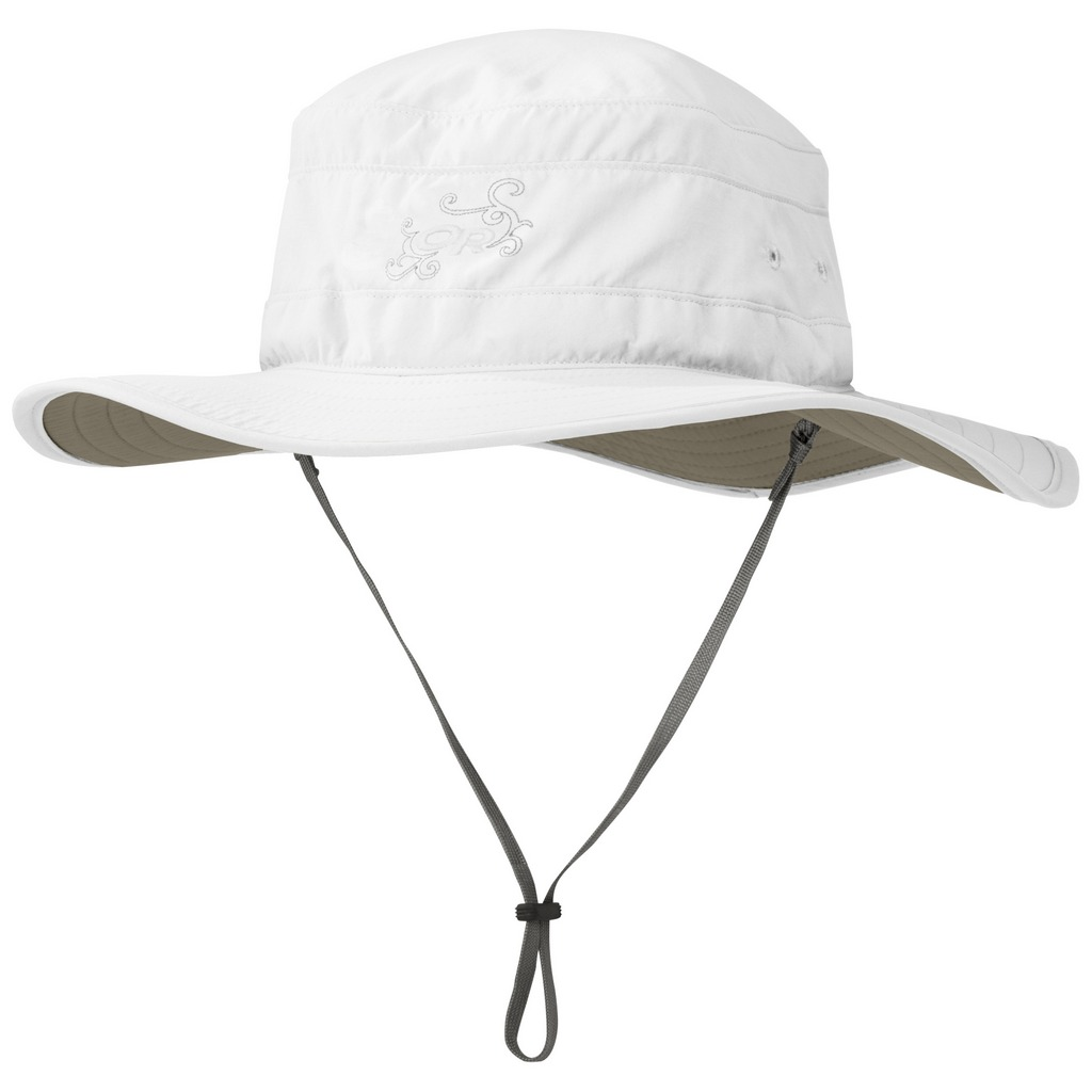 Outdoor Research Solar Roller Sun Hat Womens - White