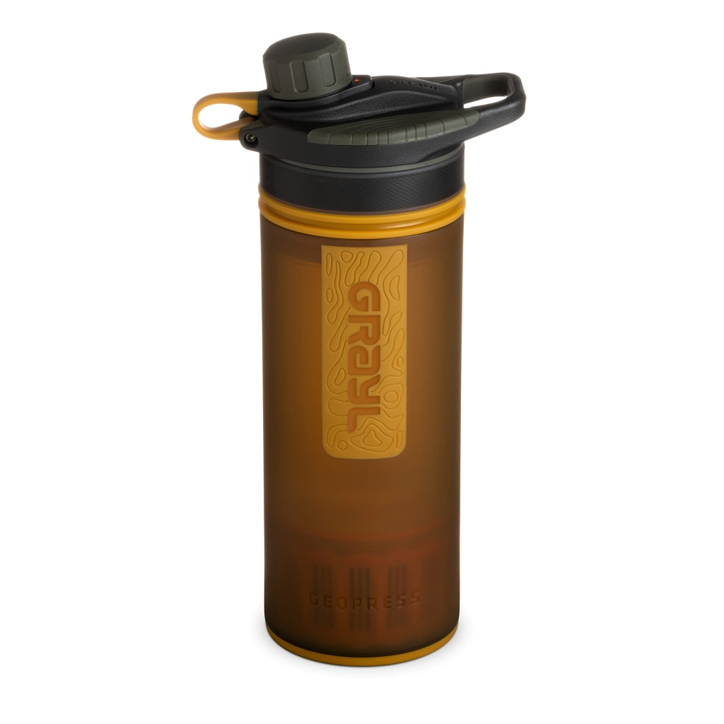 Grayl Geopress Water Purifier - Coyote Amber