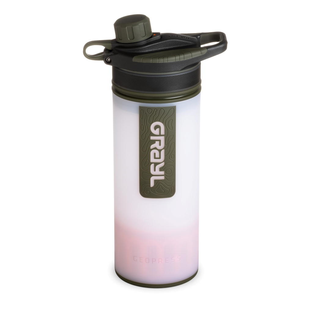 Grayl Geopress Water Purifier - Alpine White
