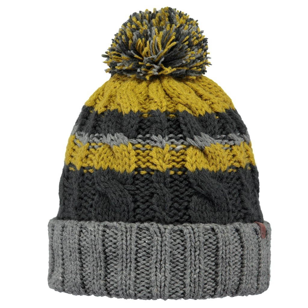 Barts Erne Beanie Mens - Heather Grey
