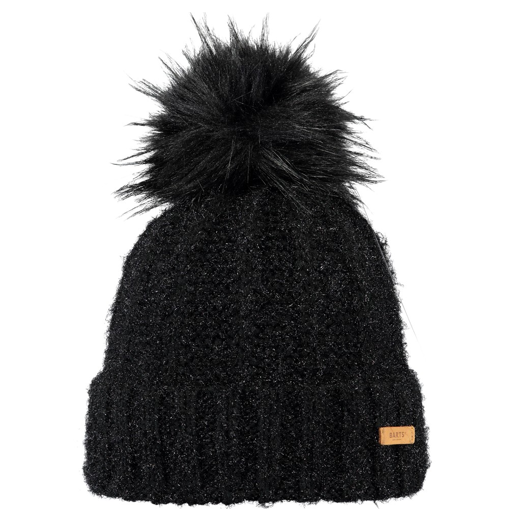 Barts Geranium Beanie Womens - Black