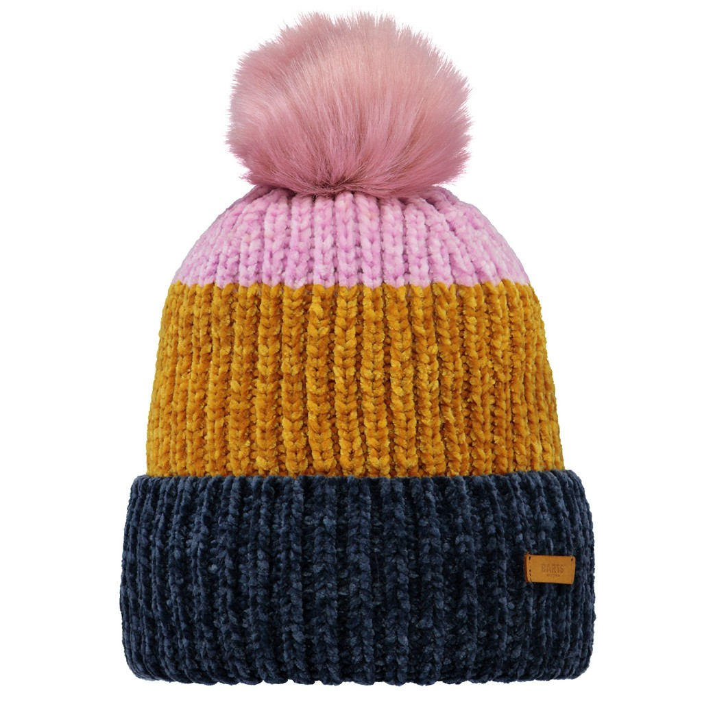 Barts Starflower Beanie Womens - Navy