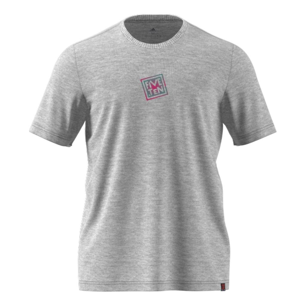 5.10 Logo Tee - Grey