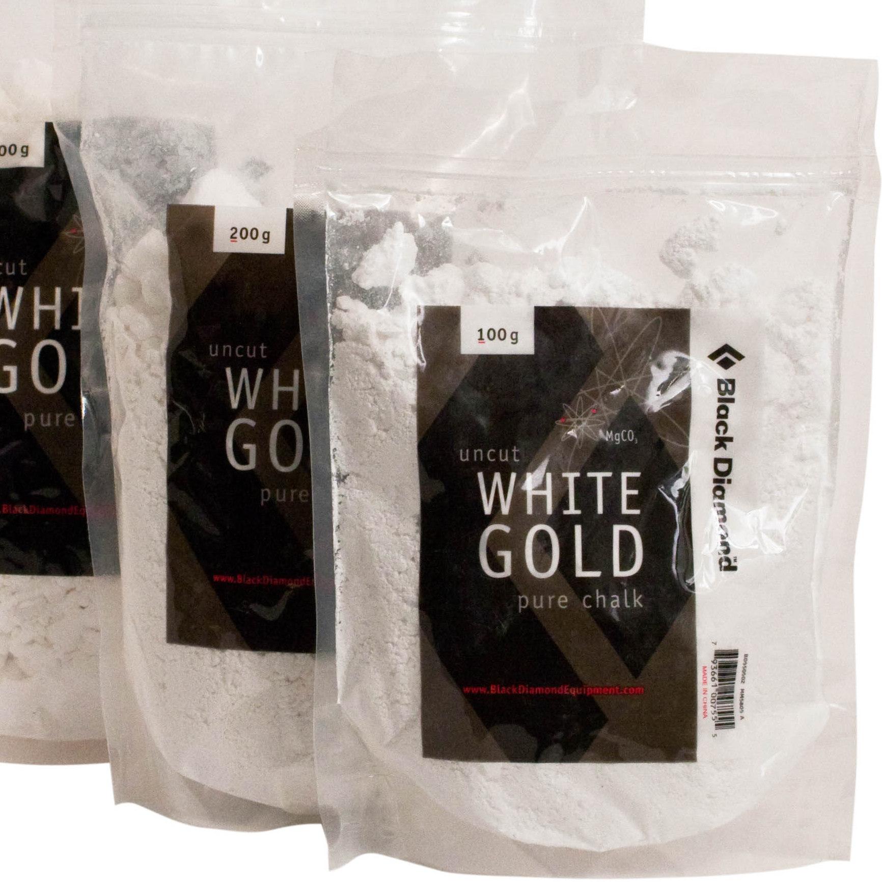 Black Diamond White Gold Pure Chalk 100g ~ 200g
