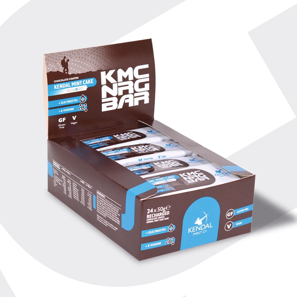 KMC NRG Bar Recharged Chocolate Covered x 6 Bars