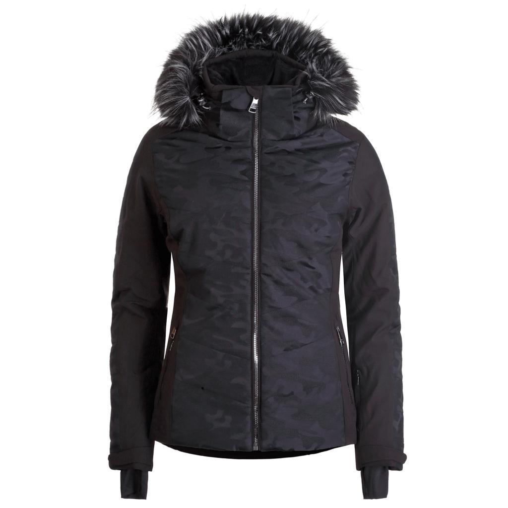 Luhta Engelsby Ski Jacket Womens Black Camo