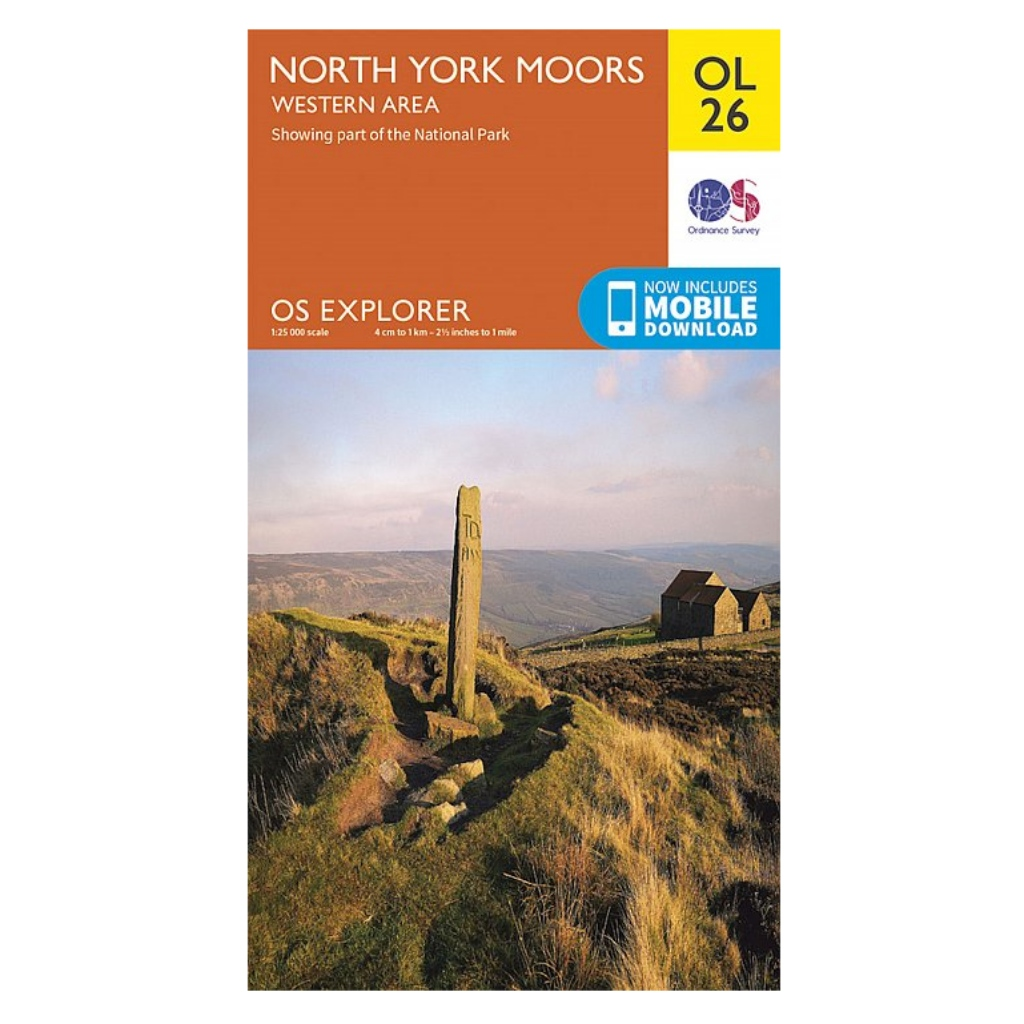OS Explorer OL26 North York Moors - Western area