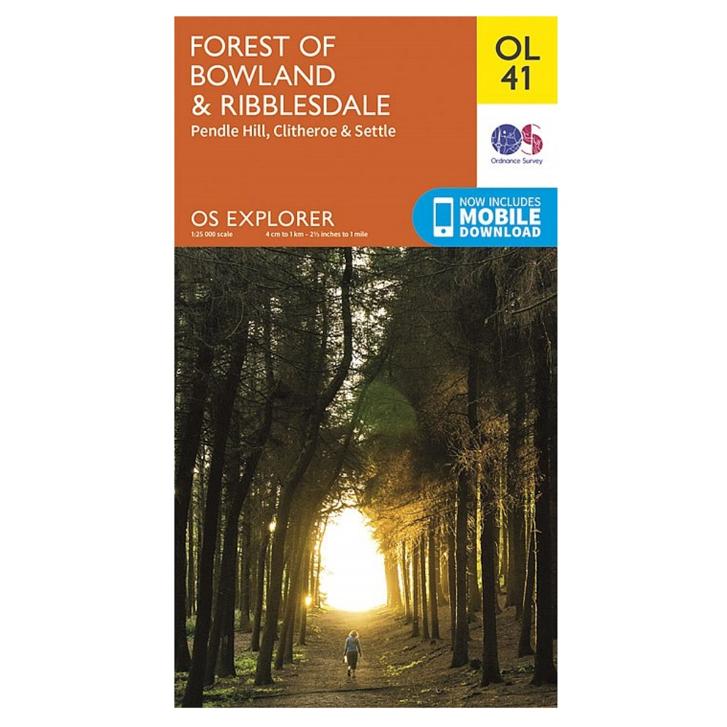 OS Explorer OL41 Forest of Bowland & Ribblesdale