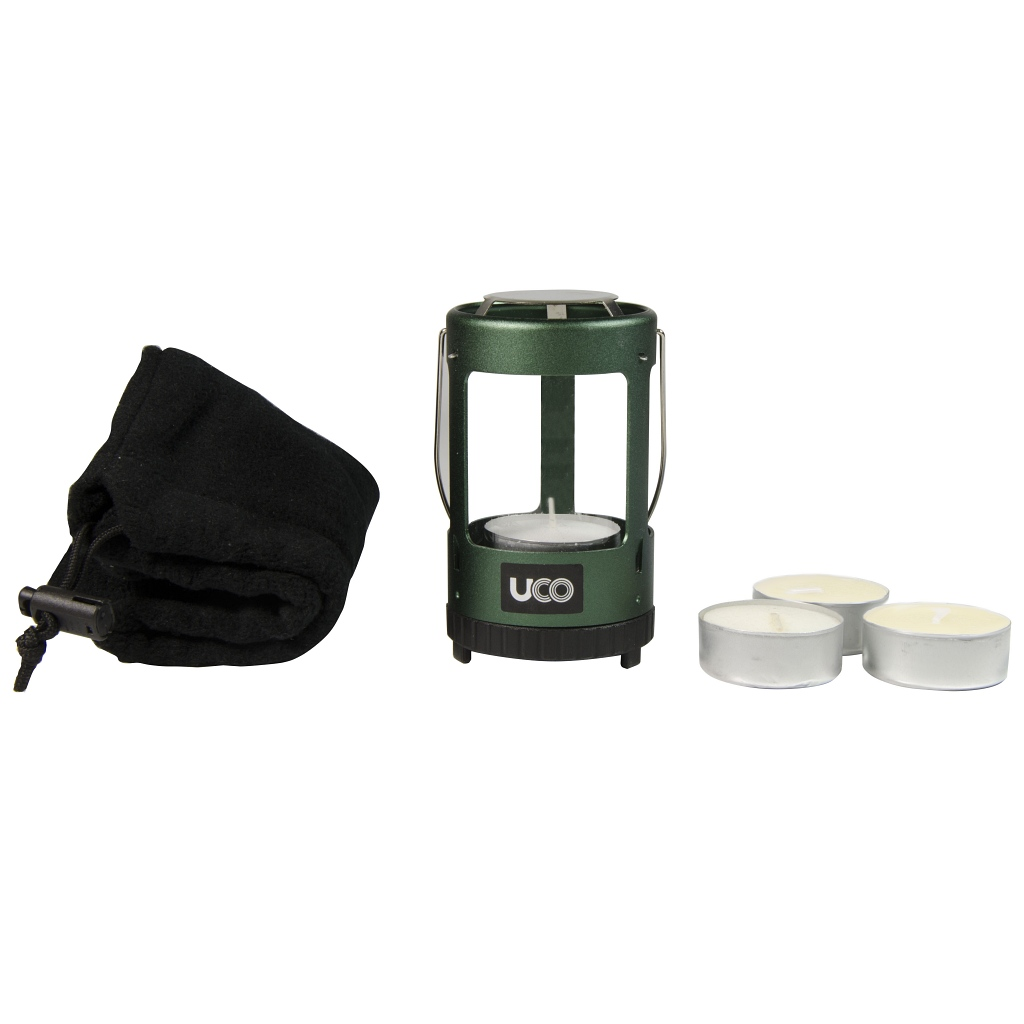 UCO 4 Hour Mini Candle Lantern Kit - Green