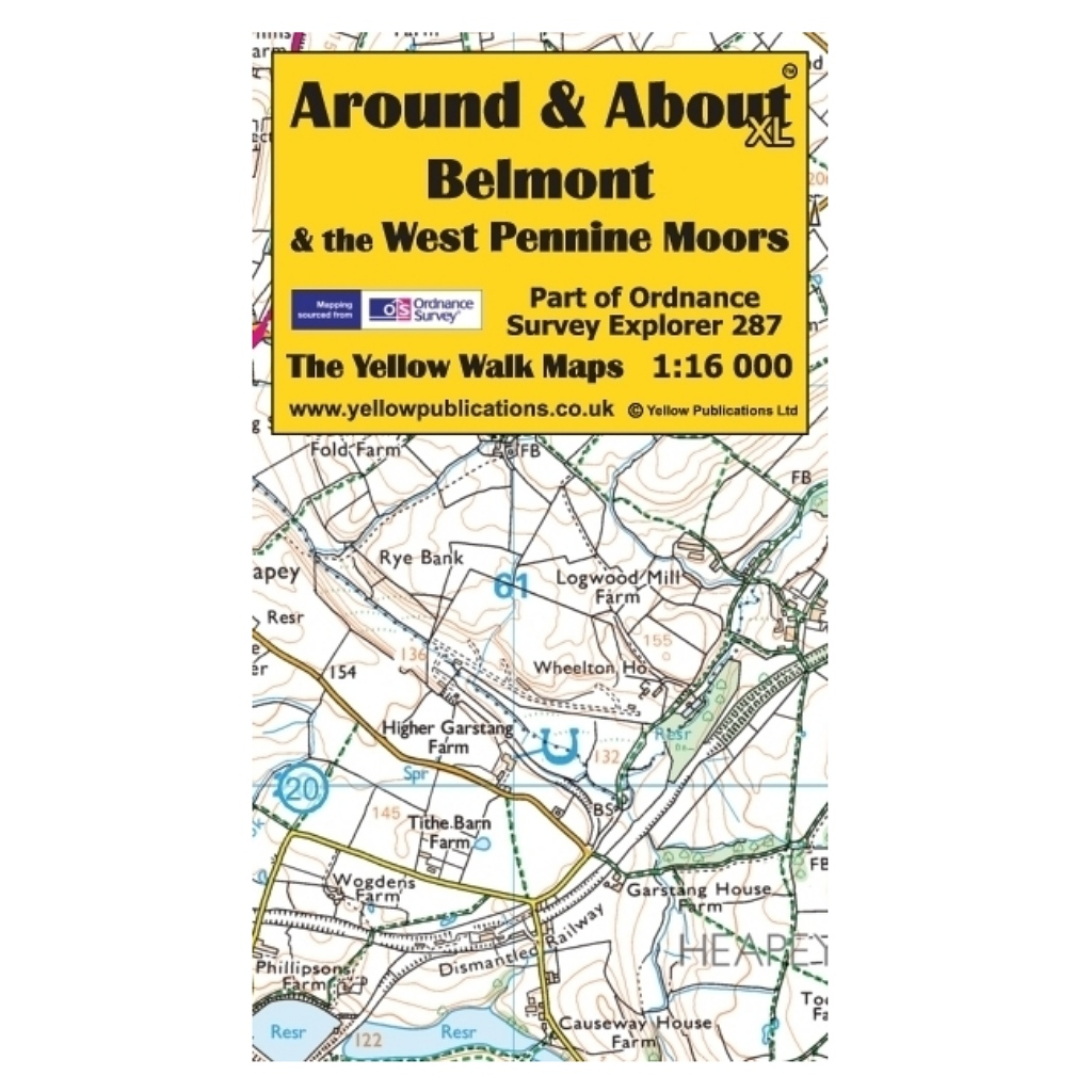 Around & About XL - Belmont & The West Pennine Moors