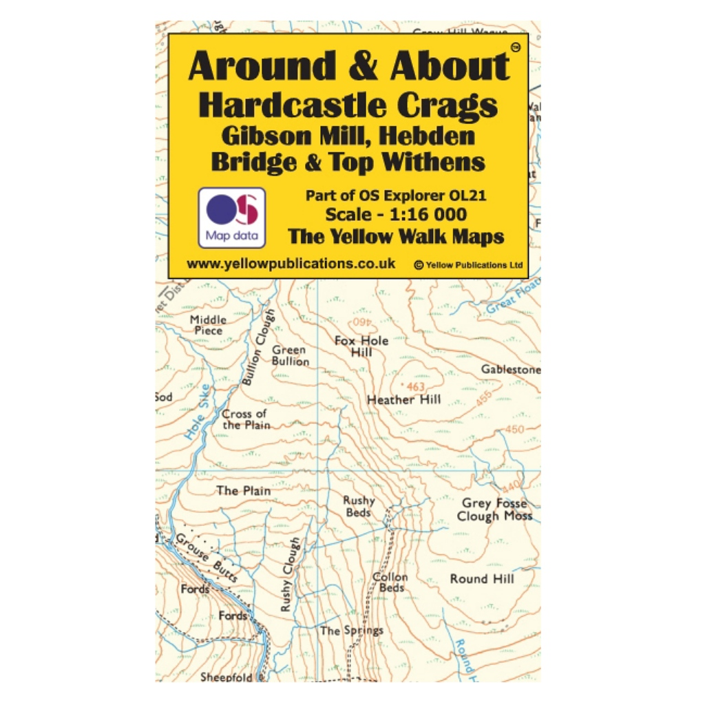 Around & About - Hardcastle Crags, Gibson Mill, Hebden Bridge & Top Withens