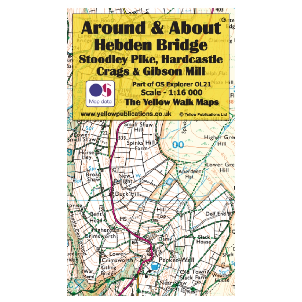 Around & About - Hebden Bridge, Stoodley Pike, Hardcastle Crags & Gibson Mill