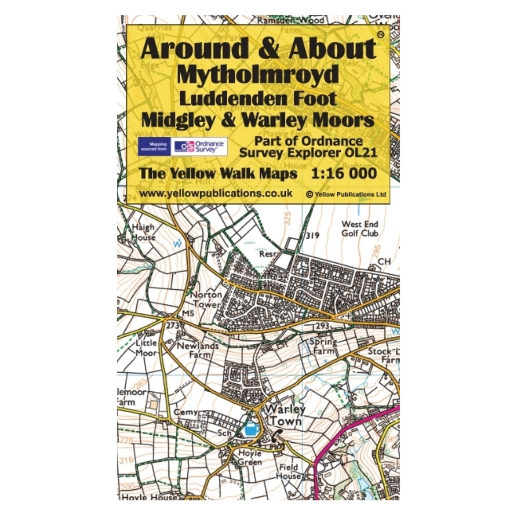 Around & About - Mytholmroyd, Luddenden Foot, Midgley & Warley Moors