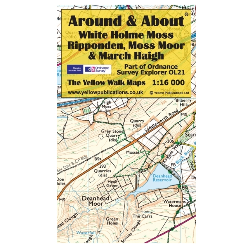 Around & About - White Holme Moss, Ripponden, Moss Moor & March Haigh