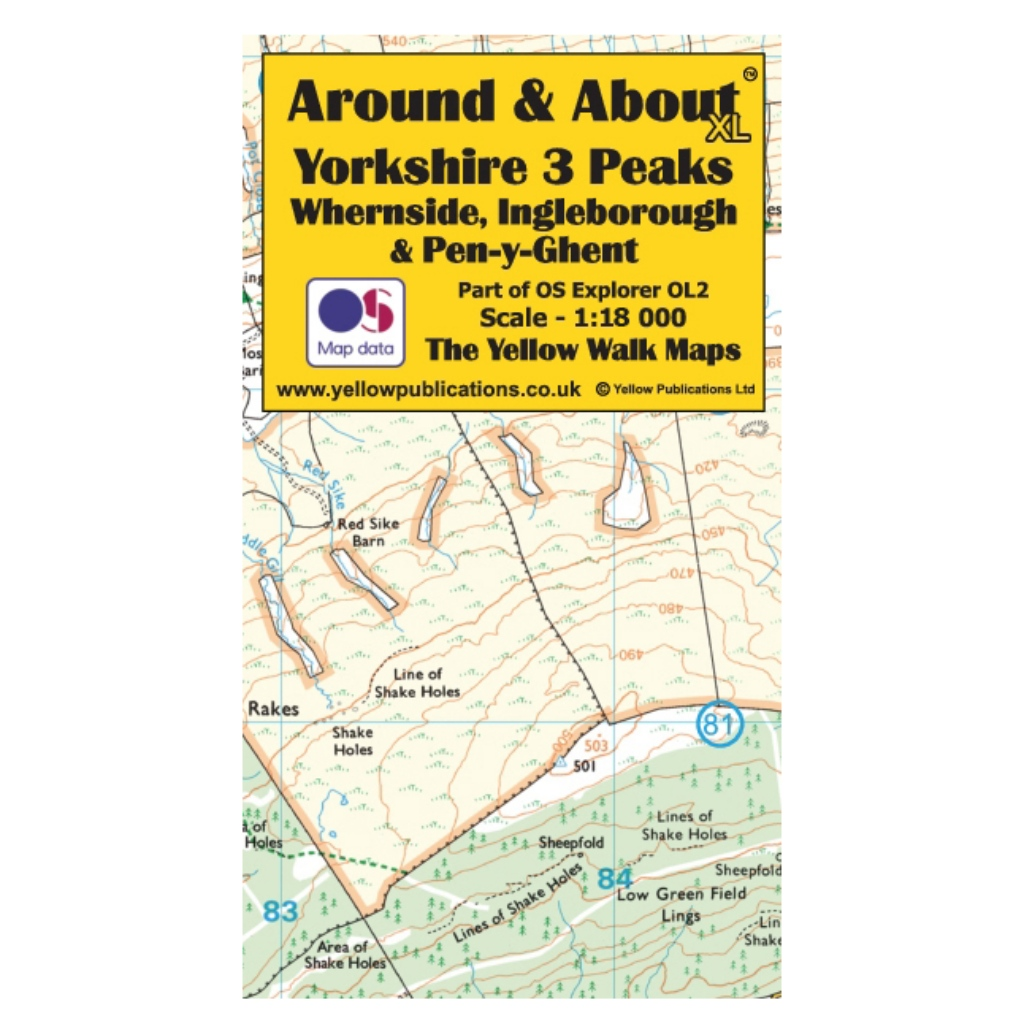 Around & About XL - Yorkshire 3 Peaks, Whernside, Ingleborough & Pen-y-Ghent