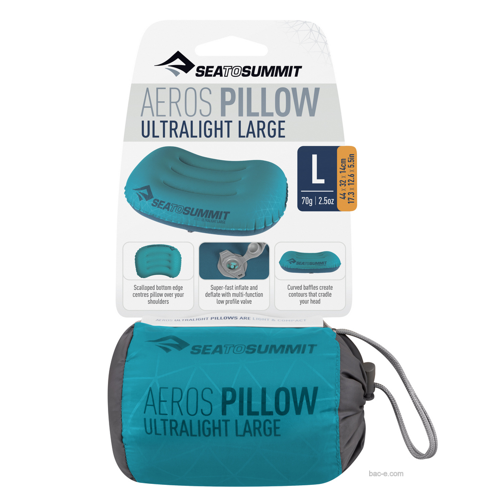 Sea to Summit Aeros Ultralight Pillow Large Grey
