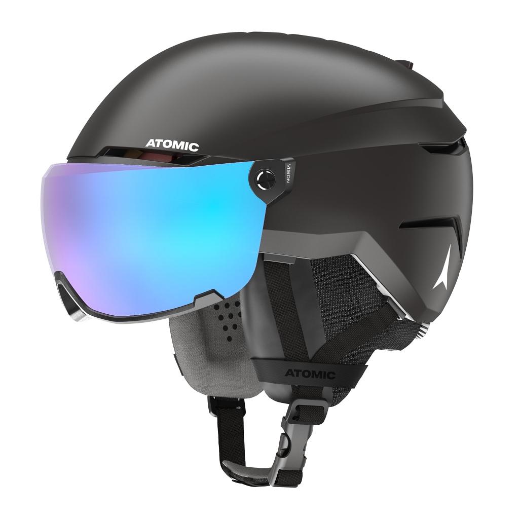 Atomic Savor Visor Stereo Ski Helmet Unisex - Blac