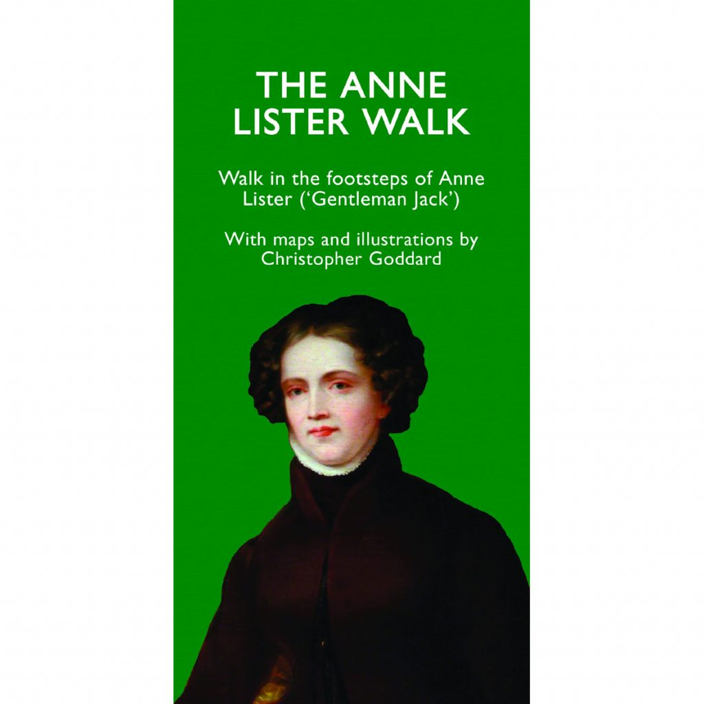 The Anne Lister Walk by Christopher Goddard