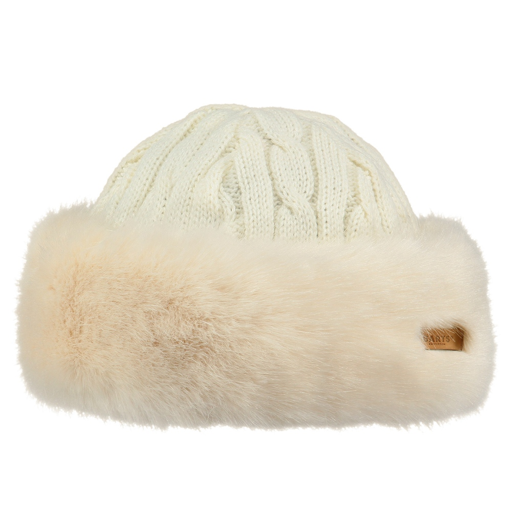 Barts Fur (Faux) Cable Bandhat Womens - White