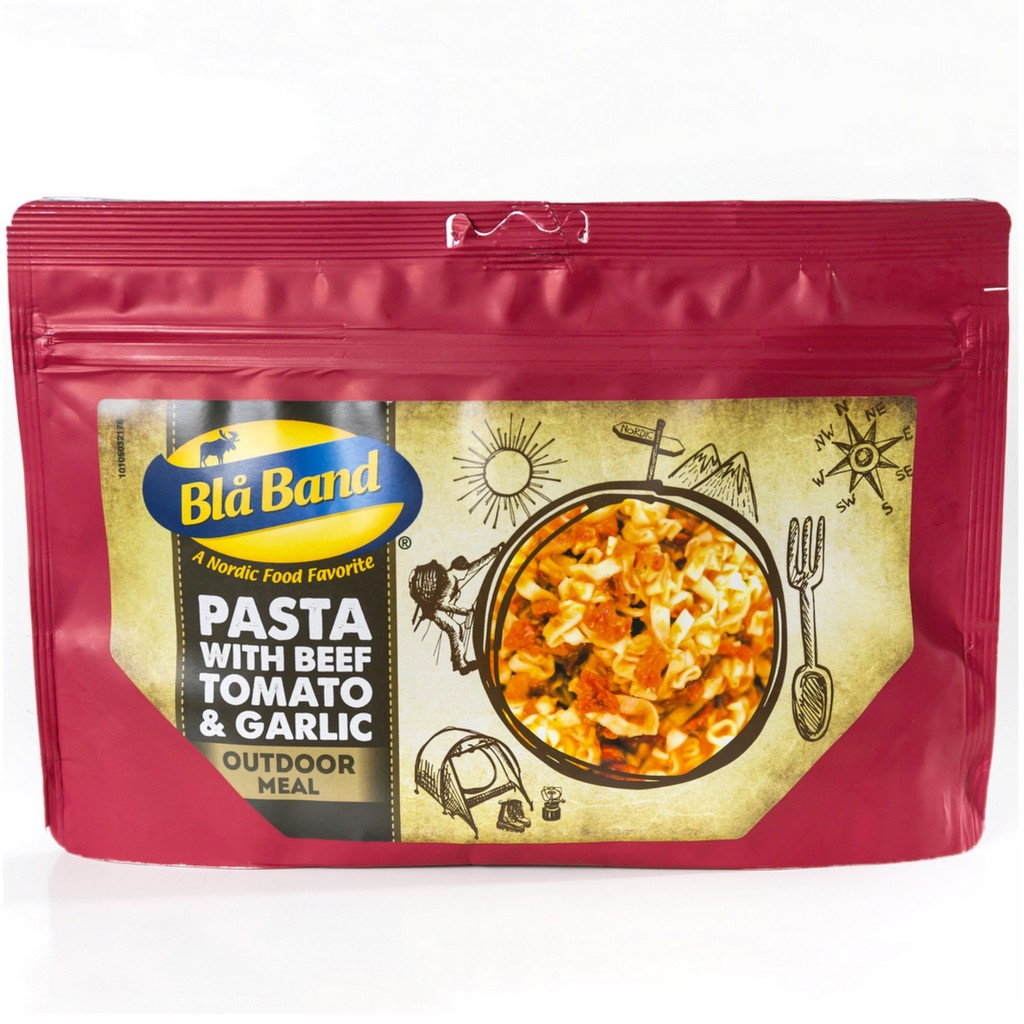 Bla Band Pasta with Beef, Tomato & Garlic