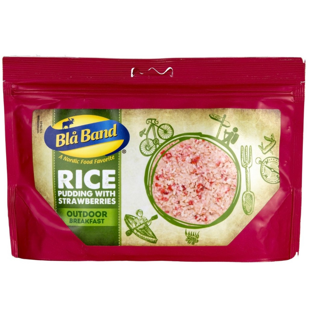 Bla Band Rice Pudding with Strawberries
