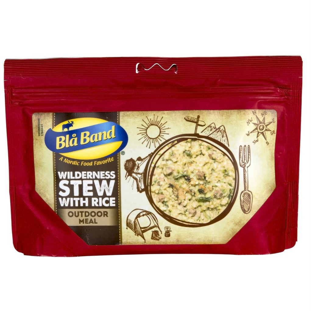 Bla Band Wilderness Stew with Rice