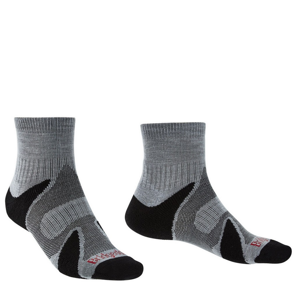 Bridgedale Trail Sport Lightweight Ankle Merino Cool Comfort