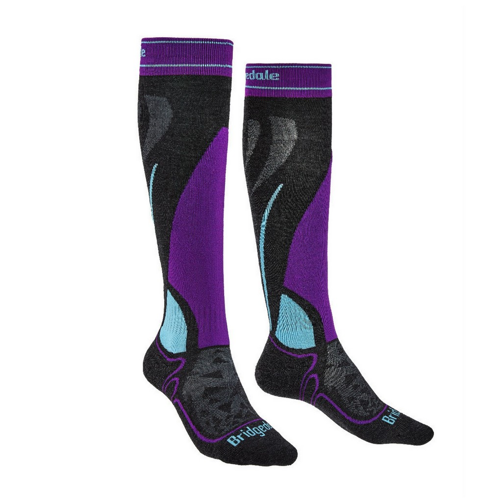 Bridgedale Ski Midweight Over Calf Ski Socks