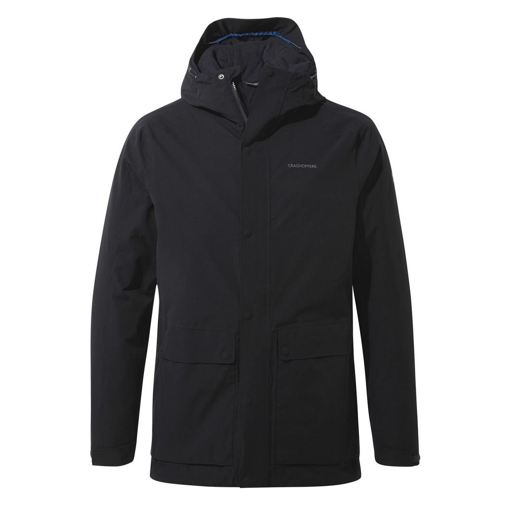 Craghoppers Lorton Thermic Waterproof Jacket Mens - Dark Navy