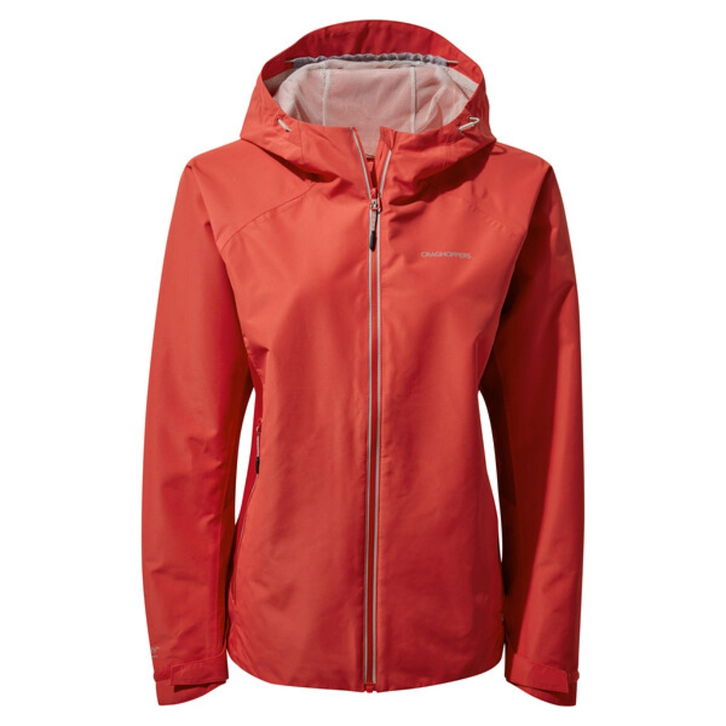 Craghoppers Atlas Jacket Womens - Rio Red
