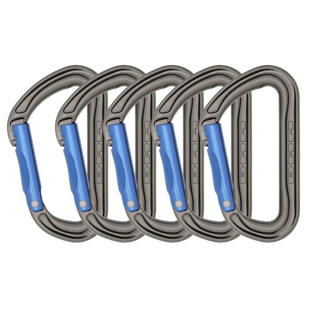 DMM Shadow Straight Gate 5 Pack