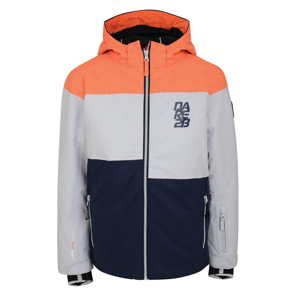 Dare 2b Roamer Jacket Boys - Orange / Grey