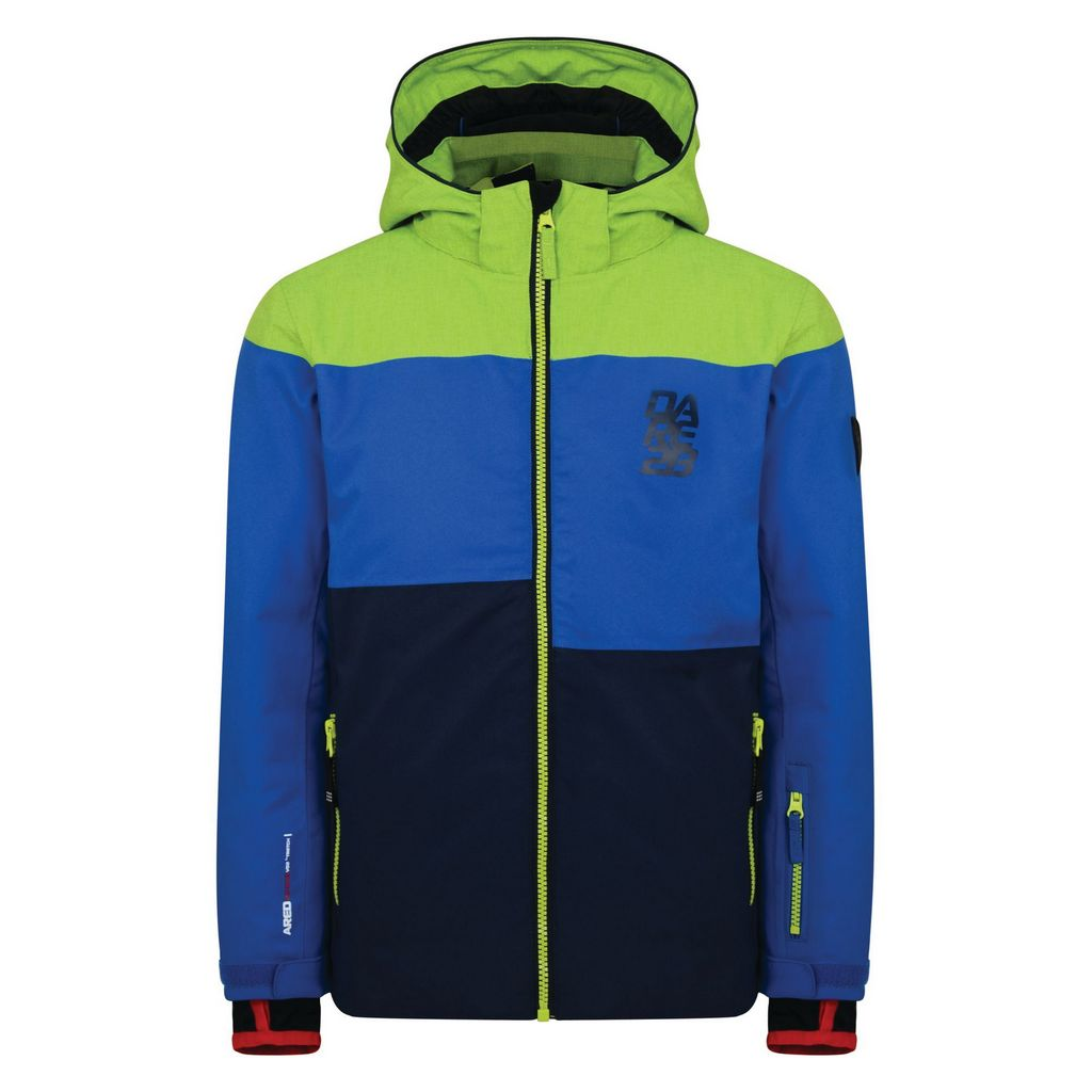 Dare 2b Roamer Jacket Boys - Electric Lime / Outsp