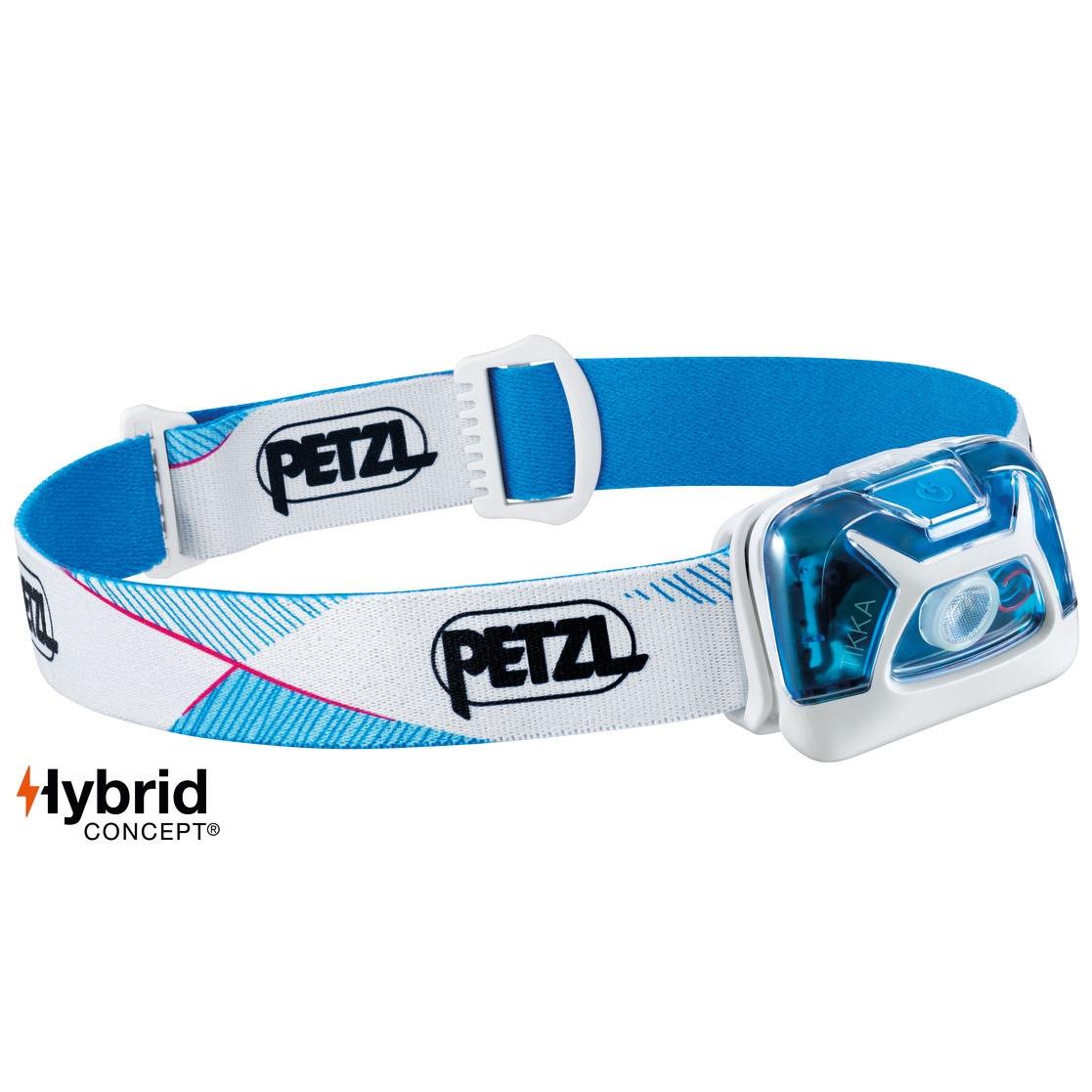 Petzl Tikka 300 Lumens Hybrid Headlamp - White