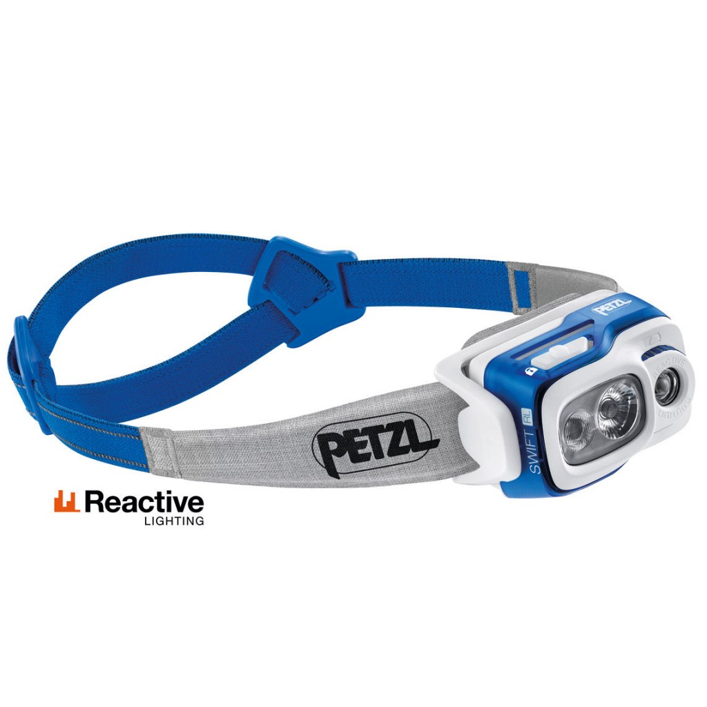 Petzl Swift RL 900 Lumens - Blue
