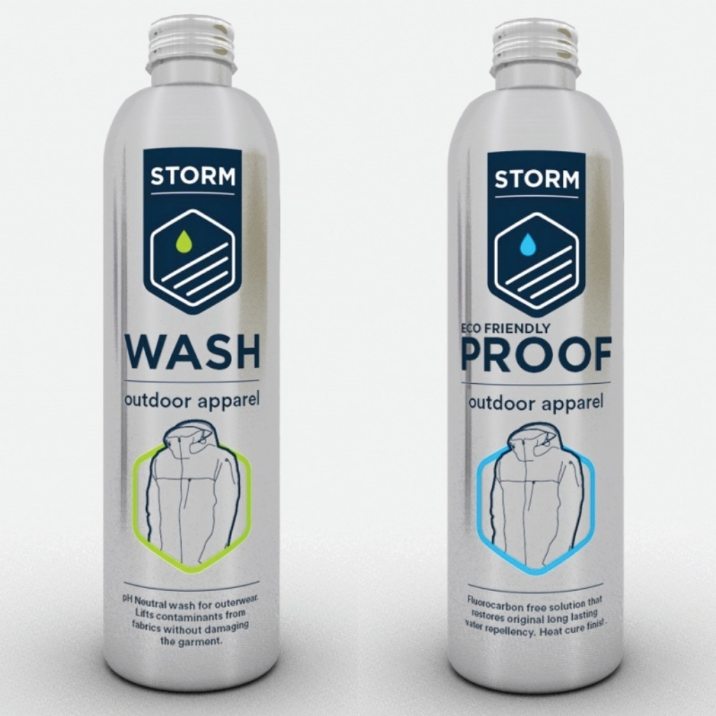 Storm Eco Friendly Outdoor Apparel Twin Pack - 2x 225ml