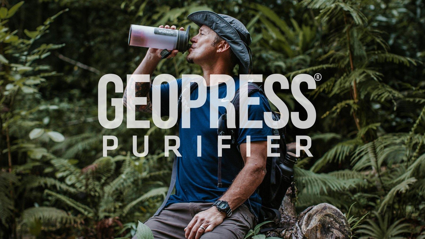 A BAC best seller - Grayl Geopress Water Purifier
