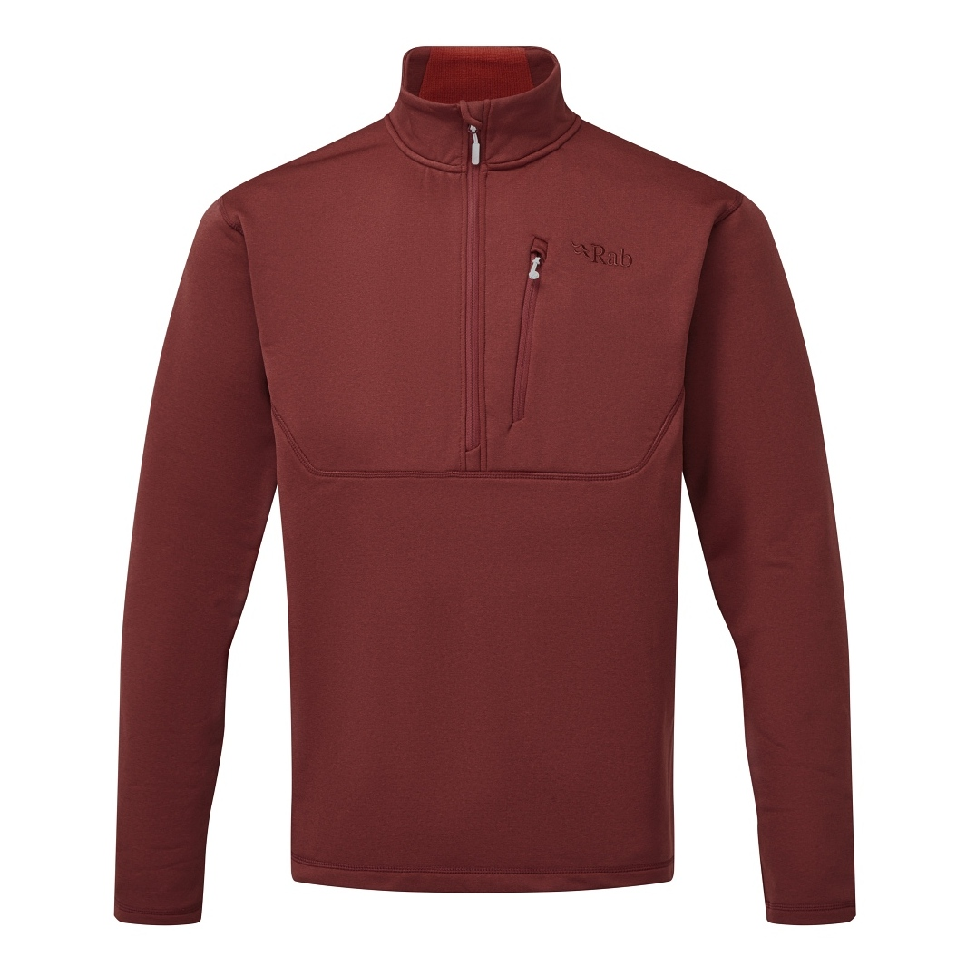 Rab Geon Pull-On Mens - Oxblood Red