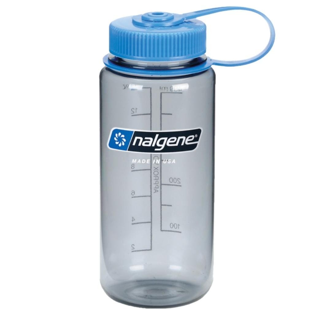 Nalgene 500ml Wide Mouth Tritan Water Bottle - Gray