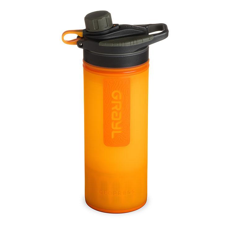 Grayl Geopress Water Purifier - Visibility Orange