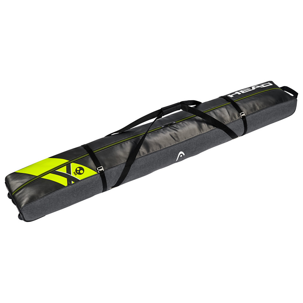 Head Rebels Wheeled Double Ski Bag