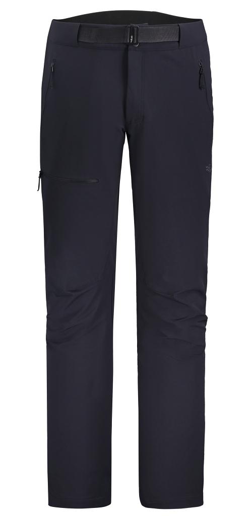 Rab AS Incline Pants Mens Short or Regular Leg Length - Ebony AW 21/22